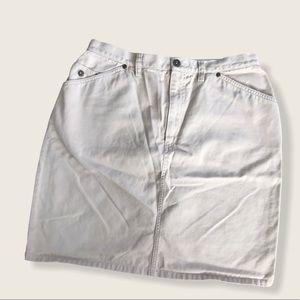 Liz Claiborne khaki skirt